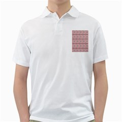 Clipart Embroidery Star Red Line Black Golf Shirts