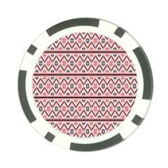 Clipart Embroidery Star Red Line Black Poker Chip Card Guard