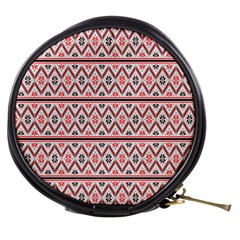 Clipart Embroidery Star Red Line Black Mini Makeup Bags