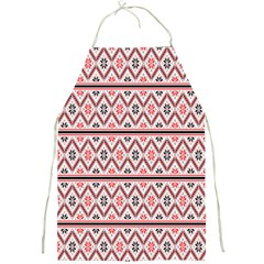 Clipart Embroidery Star Red Line Black Full Print Aprons