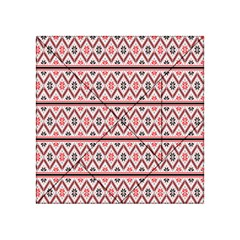 Clipart Embroidery Star Red Line Black Acrylic Tangram Puzzle (4  X 4 )