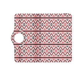 Clipart Embroidery Star Red Line Black Kindle Fire Hdx 8 9  Flip 360 Case