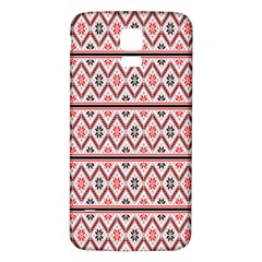 Clipart Embroidery Star Red Line Black Samsung Galaxy S5 Back Case (white)