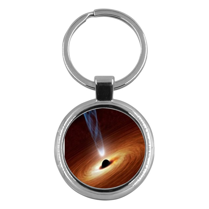 Coming Supermassive Black Hole Century Key Chains (Round)