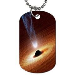 Coming Supermassive Black Hole Century Dog Tag (one Side)
