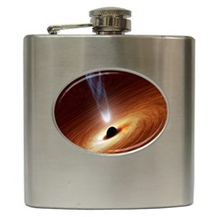 Coming Supermassive Black Hole Century Hip Flask (6 Oz)