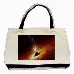 Coming Supermassive Black Hole Century Basic Tote Bag