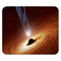 Coming Supermassive Black Hole Century Double Sided Flano Blanket (small)