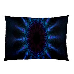 Exploding Flower Tunnel Nature Amazing Beauty Animation Blue Purple Pillow Case