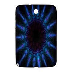 Exploding Flower Tunnel Nature Amazing Beauty Animation Blue Purple Samsung Galaxy Note 8 0 N5100 Hardshell Case