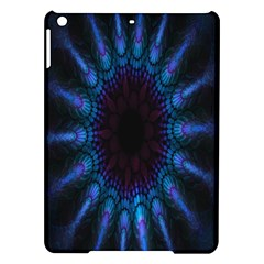 Exploding Flower Tunnel Nature Amazing Beauty Animation Blue Purple Ipad Air Hardshell Cases