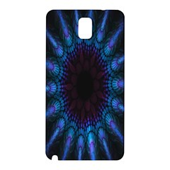 Exploding Flower Tunnel Nature Amazing Beauty Animation Blue Purple Samsung Galaxy Note 3 N9005 Hardshell Back Case