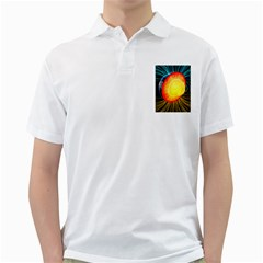 Cross Section Earth Field Lines Geomagnetic Hot Golf Shirts