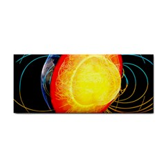 Cross Section Earth Field Lines Geomagnetic Hot Cosmetic Storage Cases