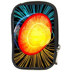 Cross Section Earth Field Lines Geomagnetic Hot Compact Camera Cases