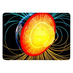 Cross Section Earth Field Lines Geomagnetic Hot Samsung Galaxy Tab 8 9  P7300 Flip Case