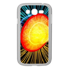 Cross Section Earth Field Lines Geomagnetic Hot Samsung Galaxy Grand Duos I9082 Case (white)