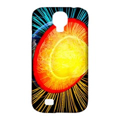 Cross Section Earth Field Lines Geomagnetic Hot Samsung Galaxy S4 Classic Hardshell Case (pc+silicone)