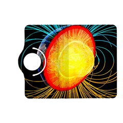 Cross Section Earth Field Lines Geomagnetic Hot Kindle Fire Hd (2013) Flip 360 Case