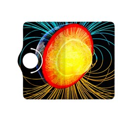 Cross Section Earth Field Lines Geomagnetic Hot Kindle Fire Hdx 8 9  Flip 360 Case