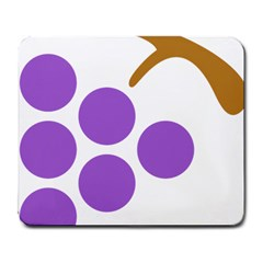 Fruit Grape Purple Large Mousepads