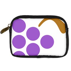 Fruit Grape Purple Digital Camera Cases
