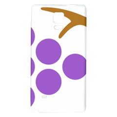 Fruit Grape Purple Galaxy Note 4 Back Case