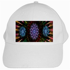Flower Stigma Colorful Rainbow Animation Gold Space White Cap