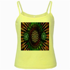 Flower Stigma Colorful Rainbow Animation Gold Space Yellow Spaghetti Tank