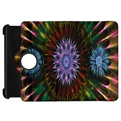 Flower Stigma Colorful Rainbow Animation Gold Space Kindle Fire Hd 7