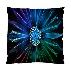 Flower Stigma Colorful Rainbow Animation Space Standard Cushion Case (two Sides)
