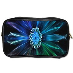 Flower Stigma Colorful Rainbow Animation Space Toiletries Bags 2 Side