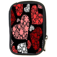 Floral Flower Heart Valentine Compact Camera Cases
