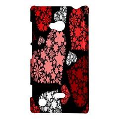 Floral Flower Heart Valentine Nokia Lumia 720
