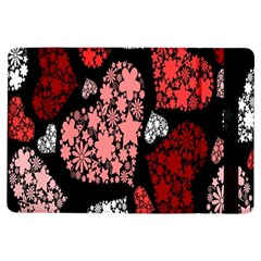 Floral Flower Heart Valentine Ipad Air Flip