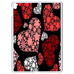 Floral Flower Heart Valentine Apple Ipad Pro 9 7   White Seamless Case