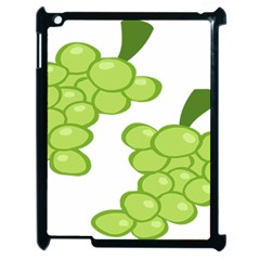 Fruit Green Grape Apple Ipad 2 Case (black)