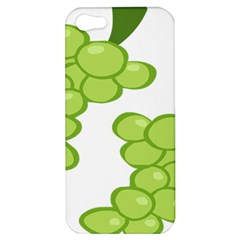 Fruit Green Grape Apple Iphone 5 Hardshell Case