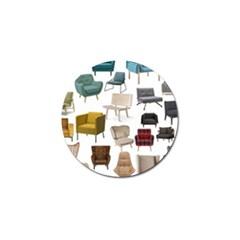 Furnitur Chair Golf Ball Marker (10 Pack)