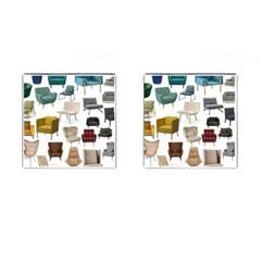 Furnitur Chair Cufflinks (square)