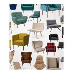 Furnitur Chair Shower Curtain 60  X 72  (medium)