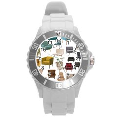 Furnitur Chair Round Plastic Sport Watch (l)