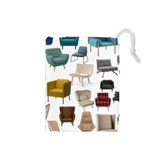 Furnitur Chair Drawstring Pouches (small)