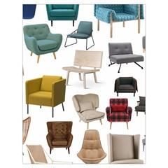 Furnitur Chair Drawstring Bag (large)