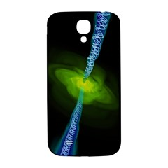 Gas Yellow Falling Into Black Hole Samsung Galaxy S4 I9500/i9505  Hardshell Back Case