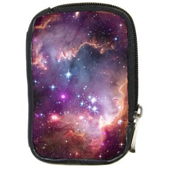 Galaxy Space Star Light Purple Compact Camera Cases