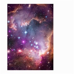 Galaxy Space Star Light Purple Small Garden Flag (two Sides)