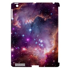 Galaxy Space Star Light Purple Apple Ipad 3/4 Hardshell Case (compatible With Smart Cover)