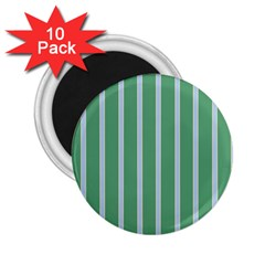 Green Line Vertical 2 25  Magnets (10 Pack)