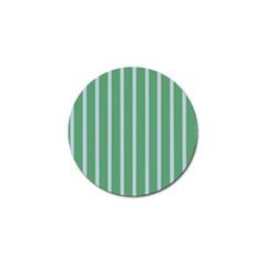 Green Line Vertical Golf Ball Marker (4 Pack)